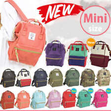 Japan Anello New MINI Unisex Backpack Canvas Bag School Bag