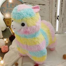 """14"""" BIG Cute Rainbow Alpacasso Kawaii Alpaca Llama Soft Plush Toy Child Doll New"""