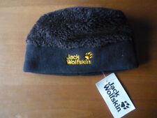 Jack Wolfskin Highloft Cap Kids schwarz Nanuk-Fleece