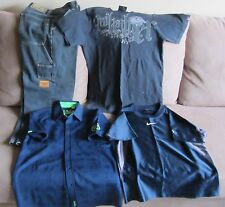 Boys ripcurl, nike, quicksilver, SMP pack Size 12.