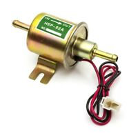 12V Low Pressure Universal Electric Fuel Pump HEP-02A Petrol Gas Diesel car H04