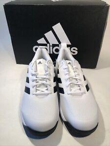 Adidas GameSpec Mens Tennis Shoe Men's Athletic Sneaker White & Black Size 10.5
