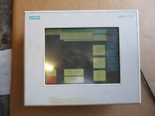 """SIEMENS TOUCH PANEL SIMATIC 10"""" SCREEN #731000G"""