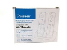 Insten Wii Remote Dual Charging Station with Rechargeable Batteries
