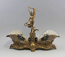 Somptueux Surtout de table avec Déesse Céramique Bronze 9937329-dss