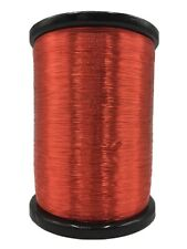 32 AWG Gauge Enameled Copper Magnet Wire 3 lbs 155C Red