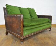 Antique Vintage Art Deco 3 seater sofa settee