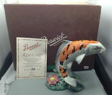 More details for lovely very rare beswick ltd edition koi carp figurine no 133 of 500 su1452
