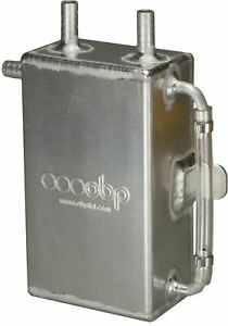 OBP 1 Litre Square Bulk Head Mount Oil Catch Tank (OBPCT001)