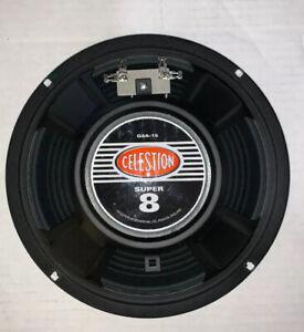 "Celestion Super 8 G8A-15 8"" Speaker Guitar Harp amp 8 ohm Wholesale Pricing!"