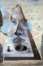 Salvador Dali Lithograph Poster Apparition du Visage L' Aphrodite FULL SIZE