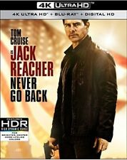Jack Reacher: Never Go Back [New 4K UHD Blu-ray] With Blu-Ray, 4K Mastering, A