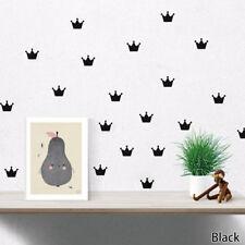 Beauty Waterproof Vinyl Cute Crown Princess Child's Bedroom Decal Wall Sticker