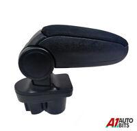 For Vauxhall Opel Corsa E MK5 2014+ Car Armrest Arm Rest + Assembly Set Black