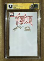 VENOM #1 LGY #166 Sketch Variant CGC SS 9.8 CATES & STEGMAN Signed Marvel Comic