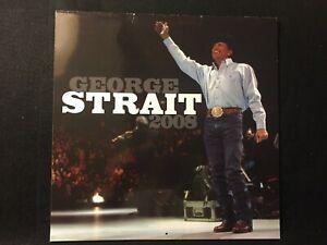 Collectible Rare 2008 George Strait 12 Month Calendar