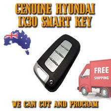 Hyundai I20 + I30 GENUINE Smart Key - We Can Cut And Program + Pin Codes + POST