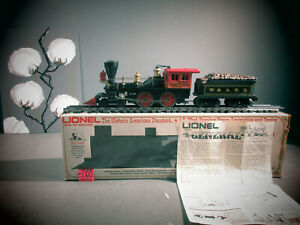 NIB Lionel  #6-8701 W & A.R.R. THE GENERAL LOCOMOTIVE AND TENDER O.B.