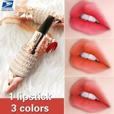 3 color in 1 Waterproof Long Lasting Pearl Necklace Matte Lipstick Lip Gloss