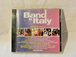 BAND IN ITALY Psycho Italia CD Musica Collezione
