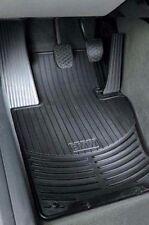 2 BMW Black Rubber Floor Mats E46 323 325 328 330 1921