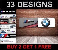 BMW M4 PLACA BANDERA – pvc logo Banner Para Su Taller Habitación HOMBRE
