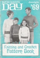 VINTAGE AUSTRALIAN WOMAN'S DAY DESIGN '69 Knitting & Crochet Pattern Book