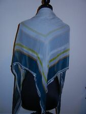 "Dries Van Noten 100% Silk Scarf ""Fadia"" Beaded trim GORGEOUS!!! msrp $700"