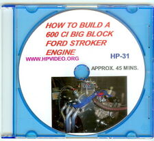 "How to build a 600 ci BBF Ford 460 Stroker Engine Video Manual ""DVD"" 957 HP!"