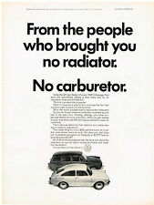 Vintage 1968 Magazine Ad Volkswagen From The People Who Brought You No Radiator