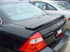 FITS FORD TAURUS 2008-2009 BOLT-ON REAR TRUNK SPOILER - UNPAINTED