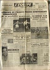 Journal l'Equipe n°2827 - 1955 - Foot Lille Bordeaux - Jean Dotto - Rugby Perpig