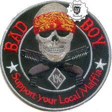 BAD BOY Support your Local Maffia 1% Patch Aufnäher * NEU *