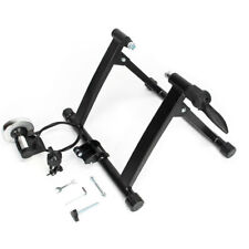 New Indoor Exercise Bike Trainer Bicycle Stand 8 Levels w/ Resistance Stationary