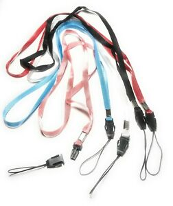 """5x Neck Strap Cord Lanyard for Mp3 Cell Phone Camera USB Flash Drive ID USA 16"""""""