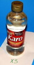 Karo Light Corn Syrup 16oz x3 with Real Vanilla