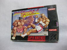 Street Fighter Ⅱ Turbo Super Nintendo Entertainment System Snes Cib