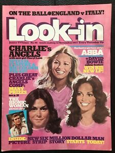 LOOK IN MAGAZINE 12 NOV 1977 #46  CHARLIE'S ANGELS   /   DAVID BOWIE