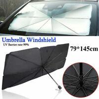 Foldable SUV Car Windshield Sunshade Front Window Cover Visor Sun Shade Umbrella