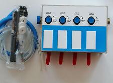 Dispenser 4-products Spray Bottle, Chemical Proportioner, 8134-4B-1G