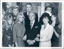 1984 Actors of the Popular ABC Television Drama Series Dynasty Press Photo