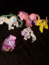 Hasbro My Little Pony MLP Vintage  Lot of 5 RARE