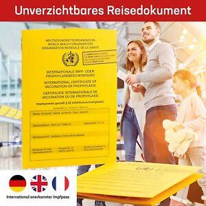 Impfpass/Impfausweis/Impfbuch - International - Neuauflage 2021