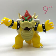New Super Mario Bros. Bowser Koopa Doll PVC Plastic Figure Toy Collectible 9""