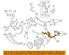 BMW OEM 08-10 550i-Power Steering Return Hose 32416773989