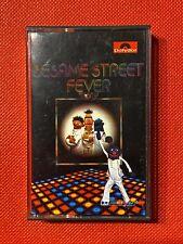 VINTAGE SESAME STREET FEVER - CASSETTE TAPE - POLYDOR 1978 - VGC