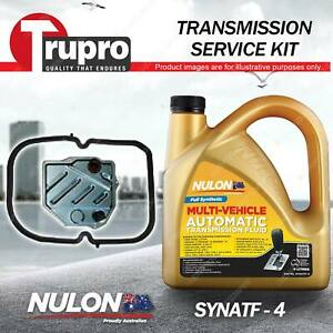 Nulon SYNATF Transmission Oil + Filter Service Kit for Ssangyong Musso 4 5 6Cyl