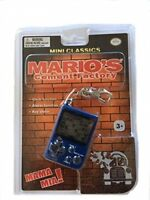 Nintendo Mini Classics Mario Cement Factory Keychain JAPAN