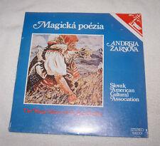 LP: Magicka Poezia - Magic Poetry of Andrej Zarnov (1979) NEW