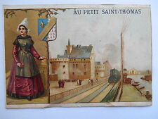"Chromo ""Au petit Saint Thomas - Châteaunantes"""